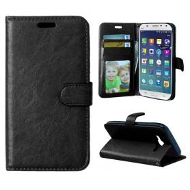 Samsung Galaxy J5 musta puhelinlompakko