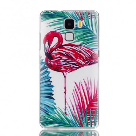 Huawei Honor 7 flamingo suojakuori.