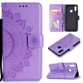 Huawei P Smart 2019 violetti mandala suojakotelo