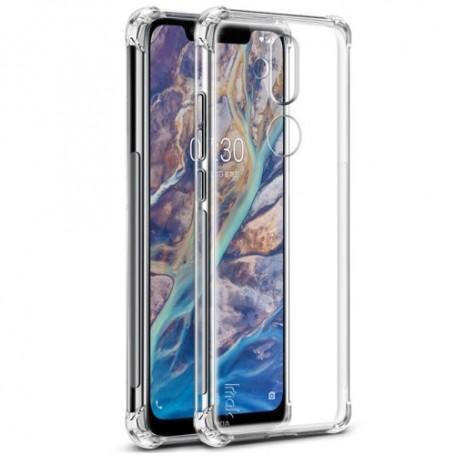 Nokia 8.1 ultra ohuet läpinäkyvät kuoret
