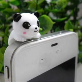 Panda koriste kännykkään.