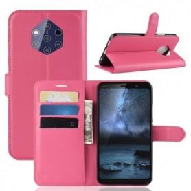 Nokia 9 Pureview pinkki suojakotelo