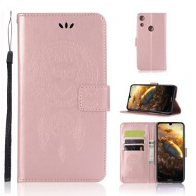 Huawei Honor 8A ruusukulta unisieppari suojakotelo