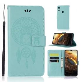 Huawei Honor 8A mintunvihreä unisieppari suojakotelo