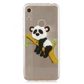 Huawei Y6s / Y6 2019 / Honor 8A läpinäkyvä panda suojakuori
