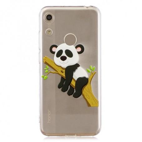 Huawei Honor 8A läpinäkyvä panda suojakuori
