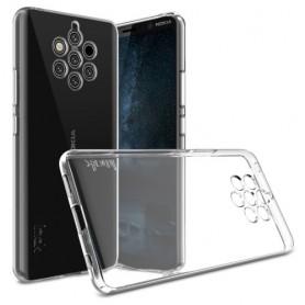 Nokia 9 PureView ultra ohuet läpinäkyvät kuoret