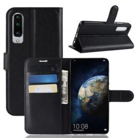 Huawei P30 musta suojakotelo