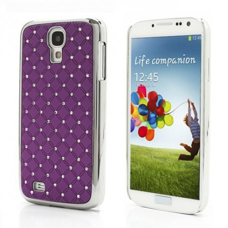 Galaxy S4 violetit luksus kuoret