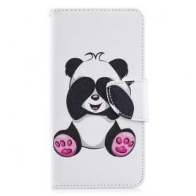 Samsung Galaxy A40 panda suojakotelo