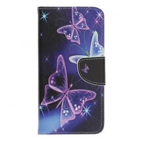 Samsung Galaxy A40 perhoset suojakotelo