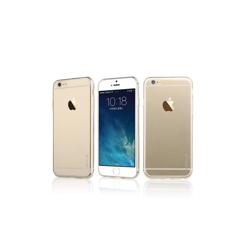 iPhone 6 ultra ohuet läpinäkyvät silikonikuoret.