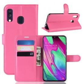 Samsung Galaxy A40 pinkki suojakotelo