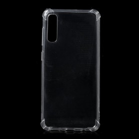 Samsung Galaxy A50 läpinäkyvä suojakuori.