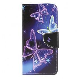 Samsung Galaxy A50 perhoset suojakotelo