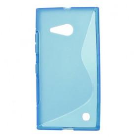 Lumia 735 sininen silikonikuori.