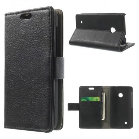 Lumia 530 musta puhelinlompakko