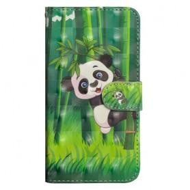 Huawei Y6s / Y6 2019 / Honor 8A panda suojakotelo