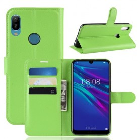 Huawei Y6s / Y6 2019 vihreä suojakotelo