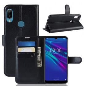 Huawei Y6s / Y6 2019 musta suojakotelo