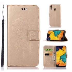 Samsung Galaxy A40 kullanvärinen unisieppari suojakotelo