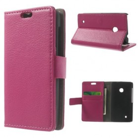 Lumia 530 hot pink puhelinlompakko