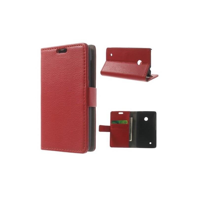 Lumia 530 punainen puhelinlompakko