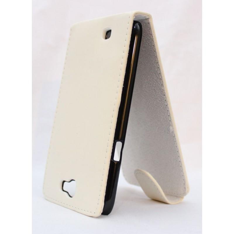 Galaxy Note 2 valkoinen läppäkotelo.