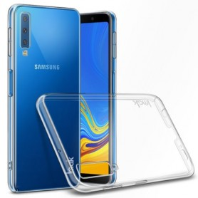 Samsung Galaxy A7 2018 ultra ohuet läpinäkyvät kuoret