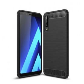 Samsung Galaxy A7 2018 musta suojakuori