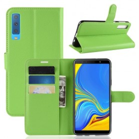 Samsung Galaxy A7 2018 vihreä suojakotelo