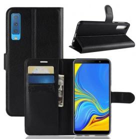 Samsung Galaxy A7 2018 musta suojakotelo