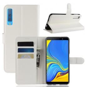 Samsung Galaxy A7 2018 valkoinen suojakotelo