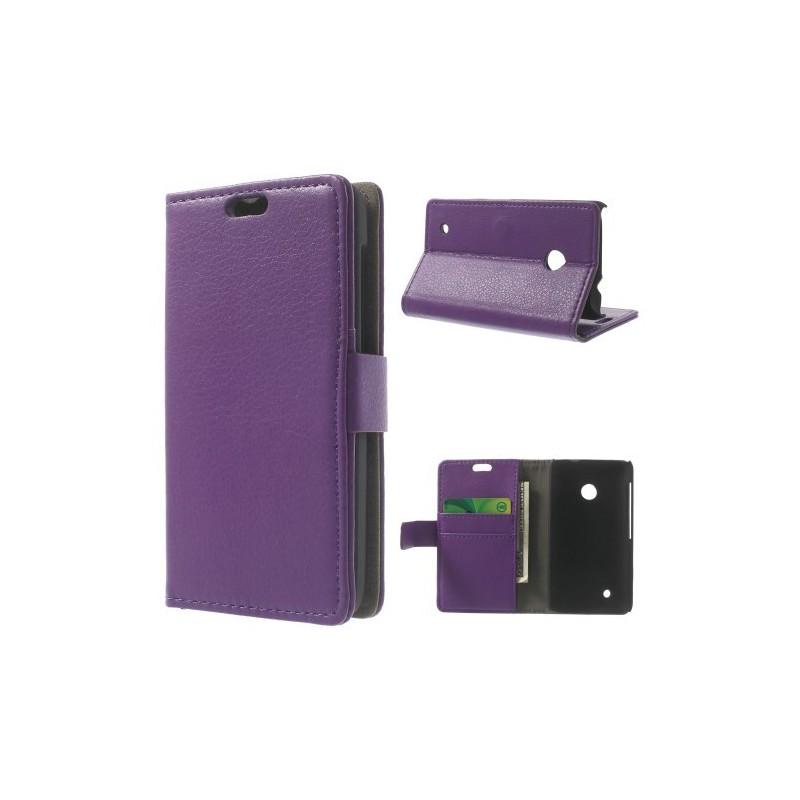 Lumia 530 violetti puhelinlompakko