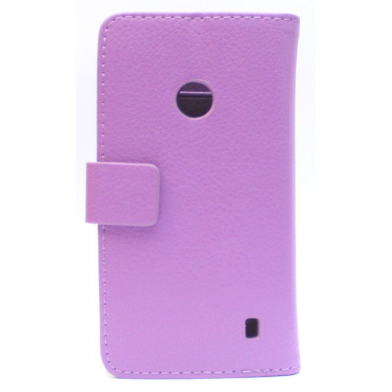 Lumia 520 violetti puhelinlompakko