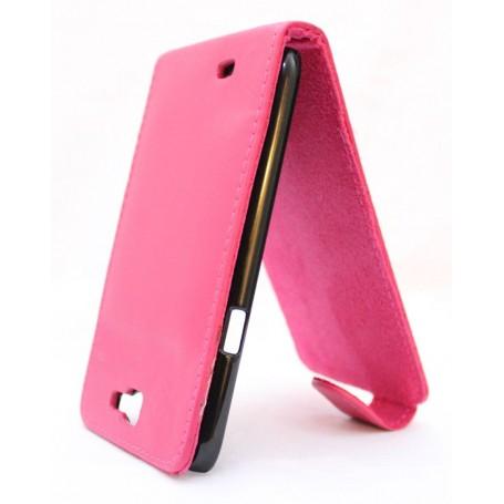 Galaxy Note 2 hot pink läppäkotelo.