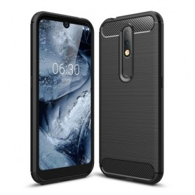 Nokia 4.2 musta suojakuori