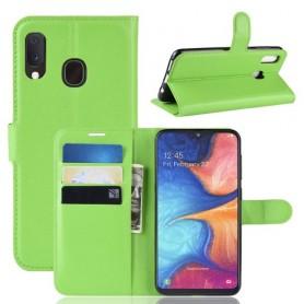 Samsung Galaxy A20e vihreä suojakotelo