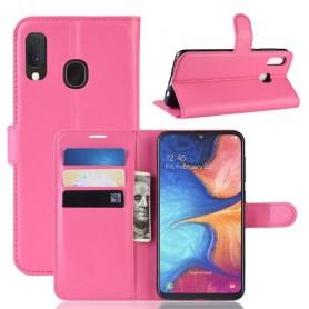 Samsung Galaxy A20e pinkki suojakotelo