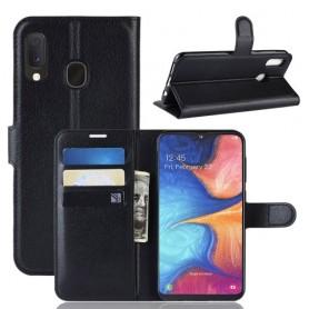 Samsung Galaxy A20e musta suojakotelo