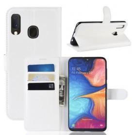 Samsung Galaxy A20e valkoinen suojakotelo
