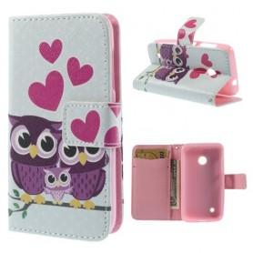 Lumia 530 pöllöt puhelinlompakko