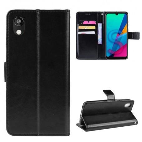 Huawei Honor 8S musta suojakotelo