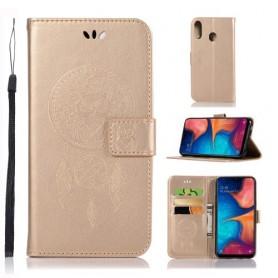 Samsung Galaxy A20e kullanvärinen unisieppari suojakotelo