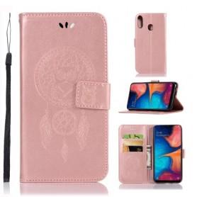 Samsung Galaxy A20e ruusukulta unisieppari suojakotelo