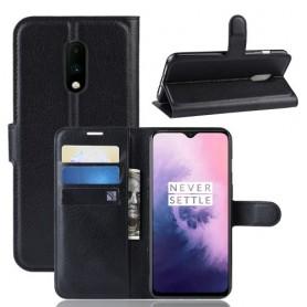 OnePlus 7 musta suojakotelo