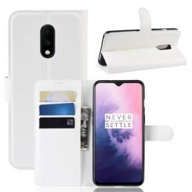 OnePlus 7 valkoinen suojakotelo