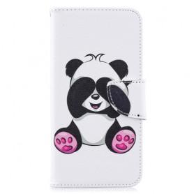 Samsung Galaxy A10 panda suojakotelo