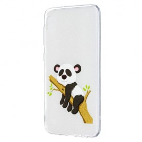 Samsung Galaxy A10 läpinäkyvä panda suojakuori