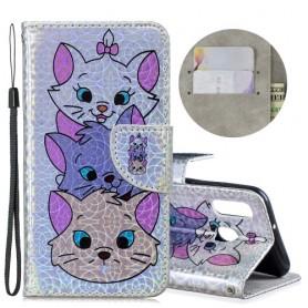 Samsung Galaxy A40 kolme kissaa suojakotelo